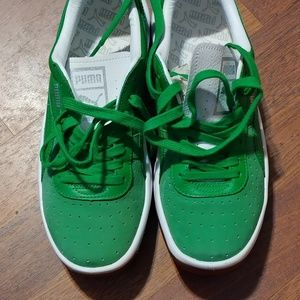 huge discount a1f41 abf12 Puma's GV Special Green Leather & Suede Kelly's